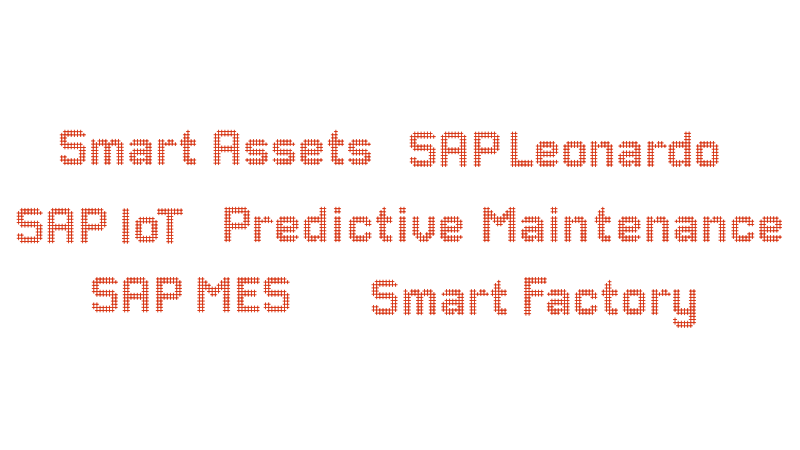 SAP Smart Factory Tag Cloud